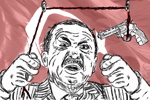 Erdogan heeft de touwtjes goed in de handen!