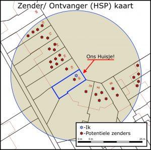Zender/ Ontvanger (HSP) Kaart